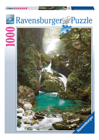 Ravensburger puzzel Mackay Falls, Nieuw-Zeeland-Vooraanzicht