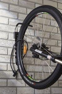 Mottez Range-vélos mural pour 1 vélo Fatbike-Image 2