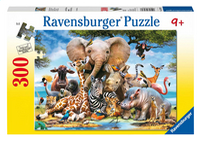 Ravensburger puzzel Afrikaanse vrienden