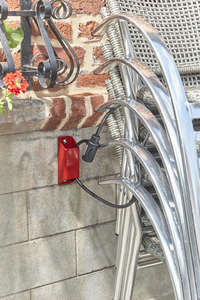 Mottez Ankerslot + anti-diefstal kabel-Afbeelding 4