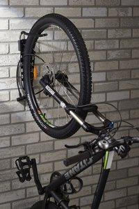 Mottez Range-vélos mural pour 1 vélo Fatbike-Image 5