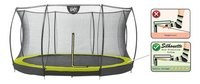EXIT Trampoline enterré avec filet de sécurité Silhouette Ground lime-Détail de l'article