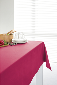 Point-Virgule nappe rouge 140 x 240 cm