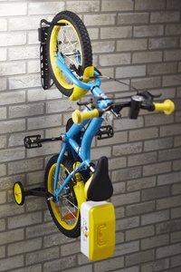 Mottez Range-vélos mural pour 1 vélo Fatbike-Image 7