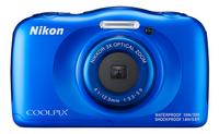 Nikon appareil photo numérique Coolpix W100 bleu