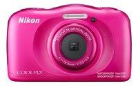 Nikon appareil photo numérique Coolpix W100 rose