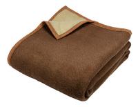 Sole Mio wollen deken beige/ecru-Vooraanzicht