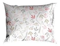 Romanette Drap de lit Fay blanc/rose coton-Détail de l'article