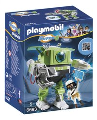 Playmobil Super 4 6693 Cleano-Robot