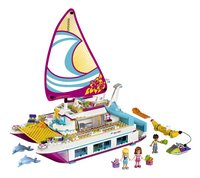 LEGO Friends 41317 Sunshine Catamaran-Vooraanzicht