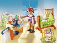 Playmobil Dollhouse 5304 Babykamer met wieg-Afbeelding 1