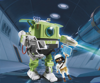 PLAYMOBIL Super 4 6693 Cleano-Robot-Afbeelding 1
