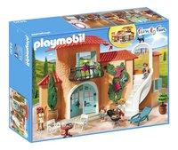 PLAYMOBIL Family Fun 9420 Vakantievilla-Linkerzijde