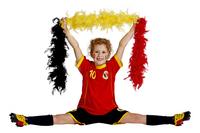 Voetbaloutfit België rood maat 128-Afbeelding 4