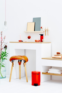 Brabantia Poubelle à pédale newIcon passion red 3 l-Détail de l'article