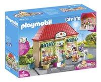 PLAYMOBIL City Life 70016 Mijn bloemenwinkel-Linkerzijde