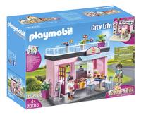 PLAYMOBIL City Life 70015 Mijn koffiehuis-Linkerzijde