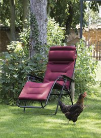 Lafuma Chaise longue Futura Air Comfort bordeaux-Image 1