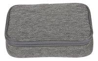 Kangourou plumier rectangulaire gris-Avant
