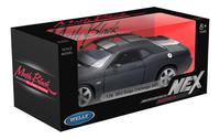 Welly auto Dodge Challenger SRT Matte Black-Linkerzijde