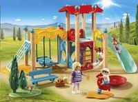PLAYMOBIL Family Fun 9423 Parc de jeu avec toboggan-Image 1