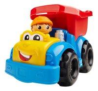 Mega Bloks First Builders Dylan Dump Truck-Vooraanzicht