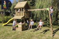Fox play Speeltoren met klimrek Baltimore met gele glijbaan