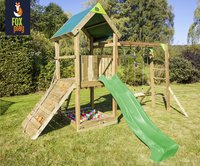 Fox play portique Riverside Monkey Bar Adventure avec toboggan lime-Image 2