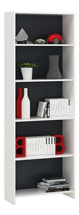Demeyere Meubles Boekenkast Folio wit/grijs decor