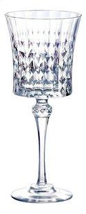 Eclat Cristal d'Arques Paris 6 verres à vin Lady Diamond 19 cl-Avant