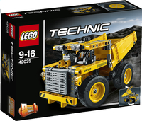 LEGO Technic 42035 Mijnbouwtruck-commercieel beeld