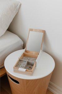Umbra Boîte à bijoux Reflexion Box beige/blanc-Image 2