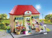 PLAYMOBIL City Life 70016 Magasin de fleurs-Image 1
