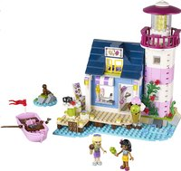 LEGO Friends 41094 Heartlake City vuurtoren-Vooraanzicht