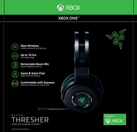 Razer casque-micro Xbox One Thresher 7.1 Wireless noir-Avant