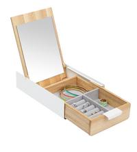 Umbra Boîte à bijoux Reflexion Box beige/blanc-commercieel beeld