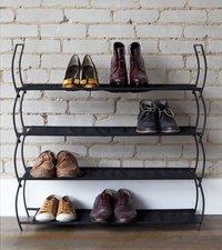 Umbra 2 range-chaussures Imelda noir 2 x 4 paires de chaussures-Image 3