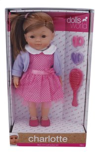 Dolls World poupée souple Charlotte-Avant
