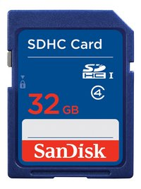 SanDisk carte mémoire SDHC Ultra Classe 4 32 Go