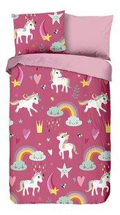 Good Morning Housse de couette Unicorn flanelle Lg 140 x L 220 cm-Avant