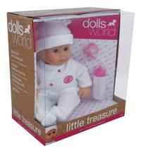 Dolls World poupée souple Little Treasure blanc-Côté gauche