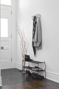 Umbra 2 range-chaussures Imelda noir 2 x 4 paires de chaussures-Image 4