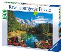 Ravensburger puzzel Bergmeer bij Matterhorn