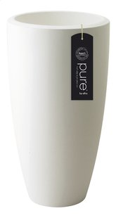 Elho pot Pure Soft round high white diamètre 35 cm