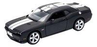 Welly auto Dodge Challenger SRT Matte Black-Vooraanzicht