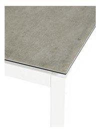 Ocean table de jardin Jura blanc L 220 x Lg 100 cm-Détail de l'article