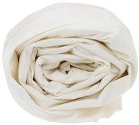 Sleepnight drap-housse ivoire en flanelle 160 x 200 cm-Détail de l'article