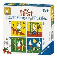 Ravensburger meegroeipuzzel 4-in-1 Nijntje-Vooraanzicht