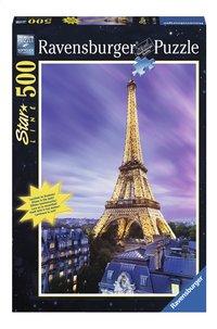 Ravensburger puzzel Verlichte Eiffeltoren-Vooraanzicht