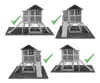 EXIT houten speelhuisje Loft 550 naturel-Artikeldetail